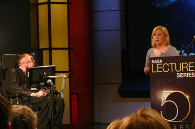 Stephen and Lucy Hawking