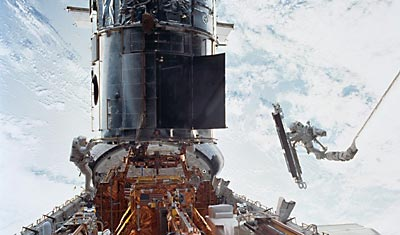Hubble SM3B repair mission