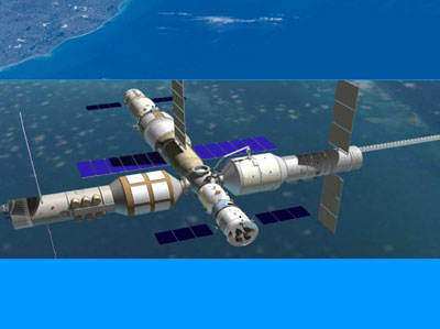 Chinese space station proposal