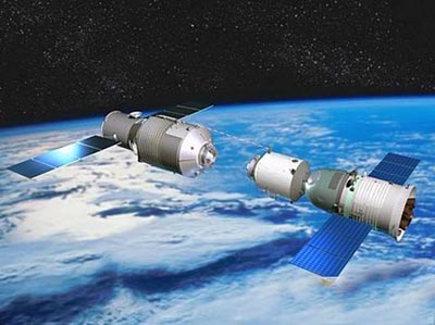 Tiangong-1 illustration