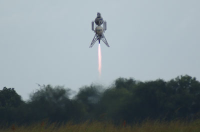 Scorpius lifts off