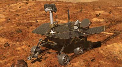 Mars Exploration Rover illustration