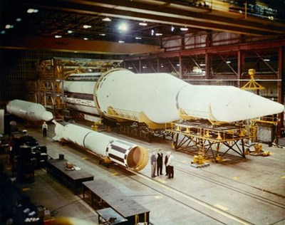 Saturn 1 and Redstone rockets
