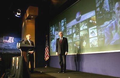 Bush and O'Keefe