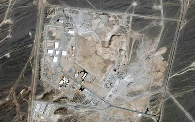 Ikonos image of Iranian nuclear plant