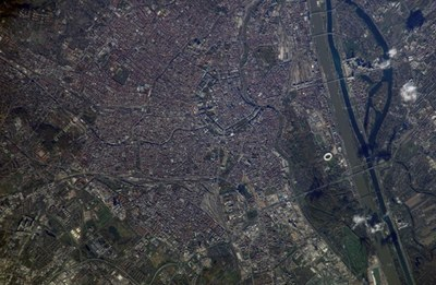 Vienna from space
