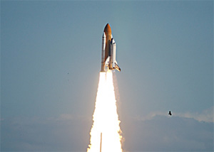 Columbia lifts off on its final mission