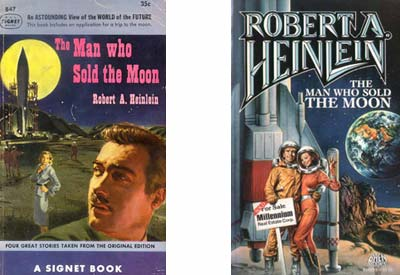 'The Man Who Sold the Moon' book covers