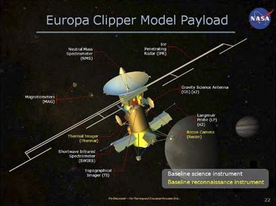 Europa Clipper illustration