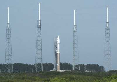 Atlas V at pad
