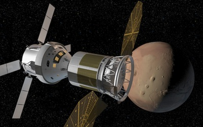 Mars flyby mission concept