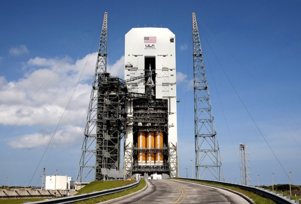 Delta 4 Heavy on pad