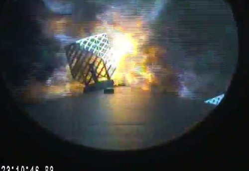 F9 first stage landing