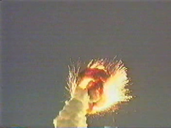 Titan IV launch failure
