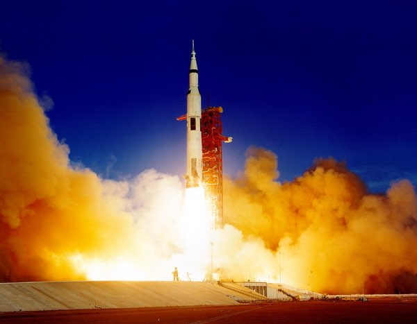 Apollo 8 launch