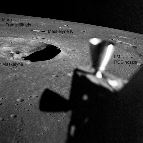 Apollo 10 lunar image