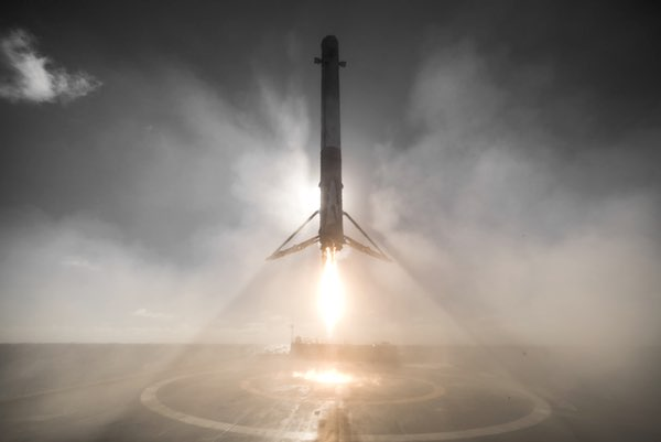 Falcon 9 stage landing