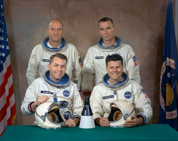 Gemini 9 crews
