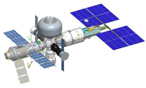 Russian new space station
