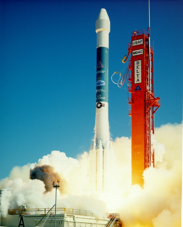 Delta II first launch