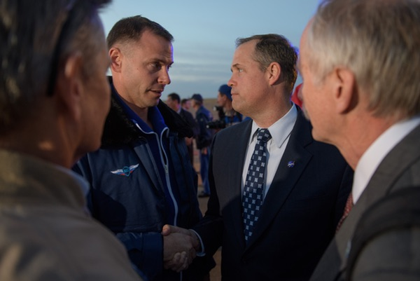 Hague and Bridenstine