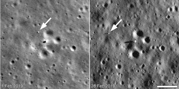 Chang'e-4/Yutu-2 on Moon'