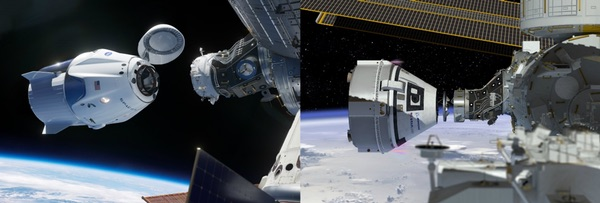 commercial crew vehicles