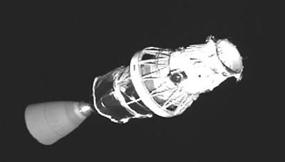 Delta 2 2nd stage imaged by XSS-10