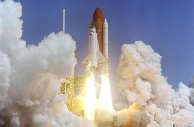 STS-114 shuttle launch