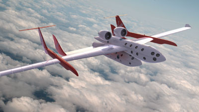 SpaceShipTwo/White Knight Two illustration