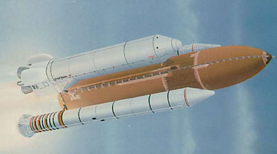 Shuttle-C illustration