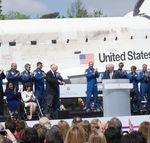 Astronauts and Discovery