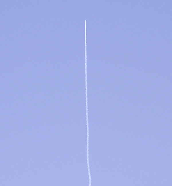SS1 contrail